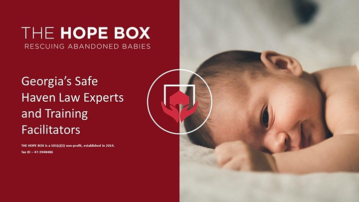 Georgia Safe Haven Law  & Experts Provider Training (THE HOPE BOX) OnDemand image