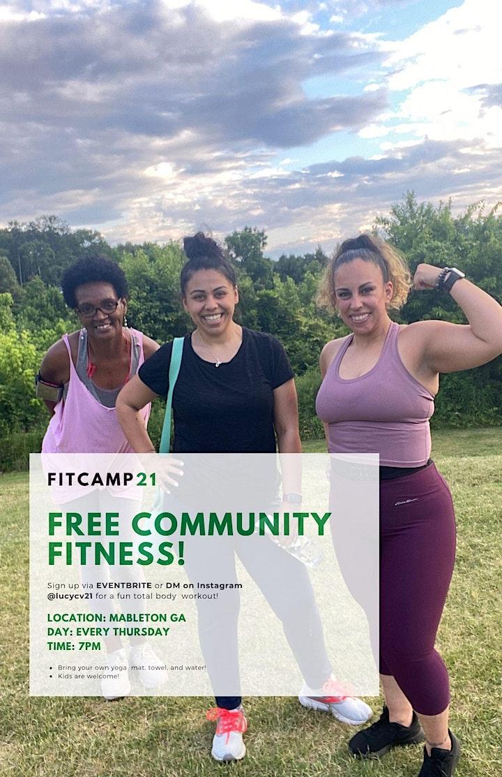 Free Community Fit Camp image