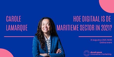 Keynote | Hoe digitaal is de maritieme sector in 2021? tickets