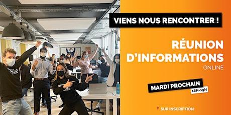 Réunion d'information IconoClass - École de vente en 4 mois billets