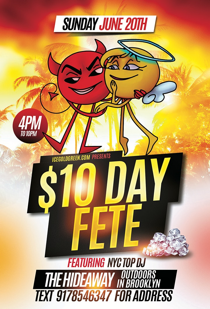 $10 DAY FETE image