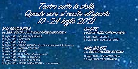 Teatro sotto le Stelle-Essere e non essere-Valmadrera,  21 luglio 2021 biglietti