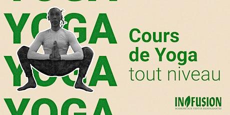 YogaFusion #5   Cours de yoga gratuit et online billets