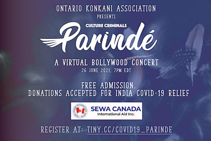 Culture Criminals 'Parinde' Covid-19 Relief Efforts Benefit Concert image