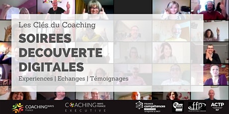 """Soirée découverte digitale # 25  """"Les Clés du Coaching"""" billets"""