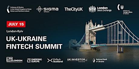 UK-Ukraine Fintech Summit tickets