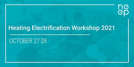 Heating Electrification Workshop 2021 tickets