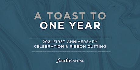 First Anniversary Celebration & Ribbon Cutting tickets