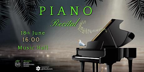 Piano Recital billets