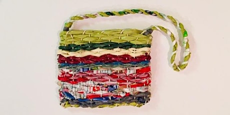 Woven Market Tote - Creative Plastic Bag Reuse tickets