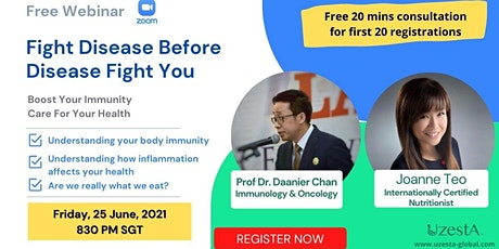 Fight Disease Before Disease Fight You tickets