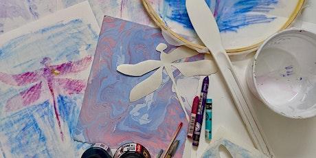 DIY Printmaking: Marbling, Monoprinting & Stencil-making tickets