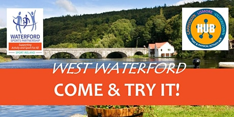 Come & Try Kayaking for Children (age 8-14)  West Waterford (early session) tickets