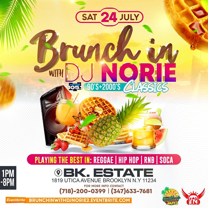 Brunch'In With Dj Norie image