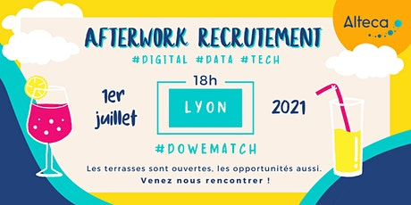 Afterwork Recrutement Lyon | 1er Juilllet à 18h00 tickets