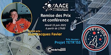 Soirée de remise des prix et conférence de Jean-Jacques Favier billets