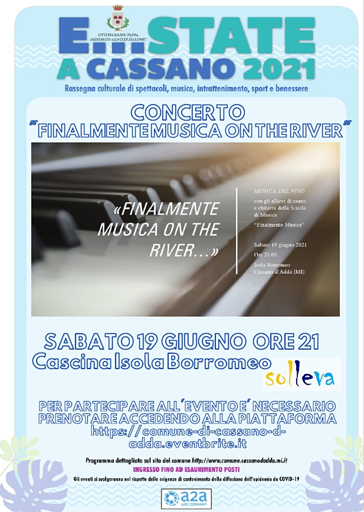 """Immagine E...state a Cassano: Finalmente musica on the river"""""""