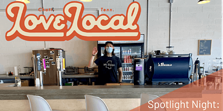 Love Local Spotlight Night featuring Burlaep Print and Coffee Shop tickets