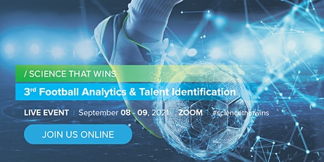Science that Wins:3rd Football Analytics & Talent Identification Live Event tickets