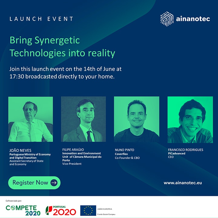 imagem AINanoTEC Launch Event: Bring Synergetic Technologies into reality