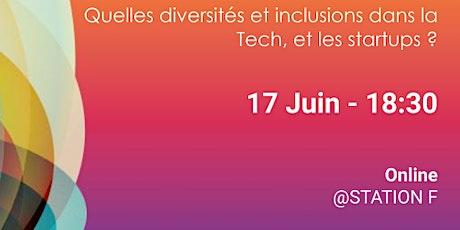 Quelles diversités et inclusions dans la Tech et les startups ? billets