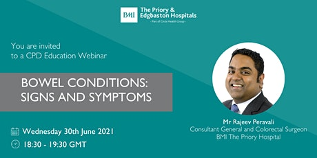 Bowel Conditions: Signs and Symptoms tickets