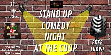 Comedy DSM Presents...Stand Up Comedy Night At The Coop! tickets