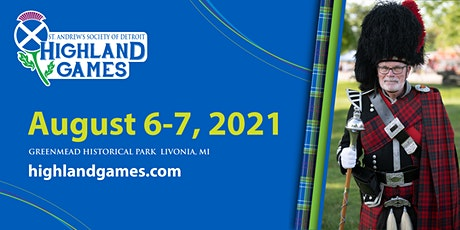 St. Andrew's Society of Detroit 2021 Highland Games tickets