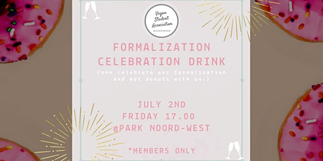 Formalization Celebration Drink (+Donuts:) ) tickets