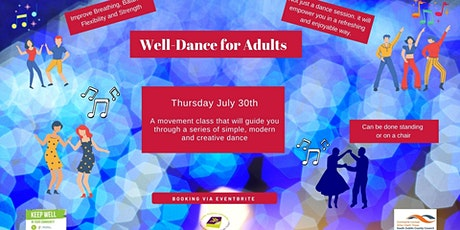 Well Dance Workshop for Adults tickets