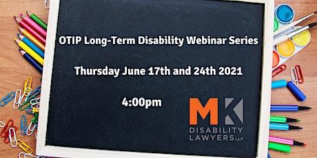 OTIP Long-Term Disability Webinar Series tickets