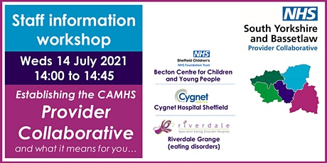 CAMHS Provider Collaborative Staff Information Workshop tickets