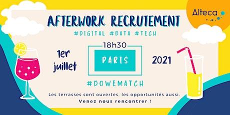 Afterwork Recrutement Paris | 1er Juilllet à 18h30 billets
