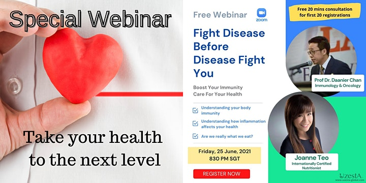 Fight Disease Before Disease Fight You! image