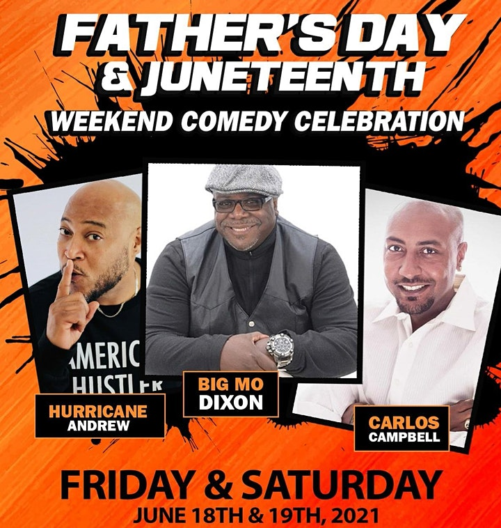 PK Father's Day & Juneteenth Weekend Comedy Celebration image