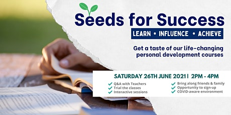 Seeds for Success - Professional Development for Youth tickets