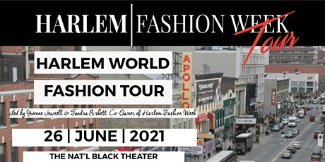 HARLEM FASHION TOUR tickets