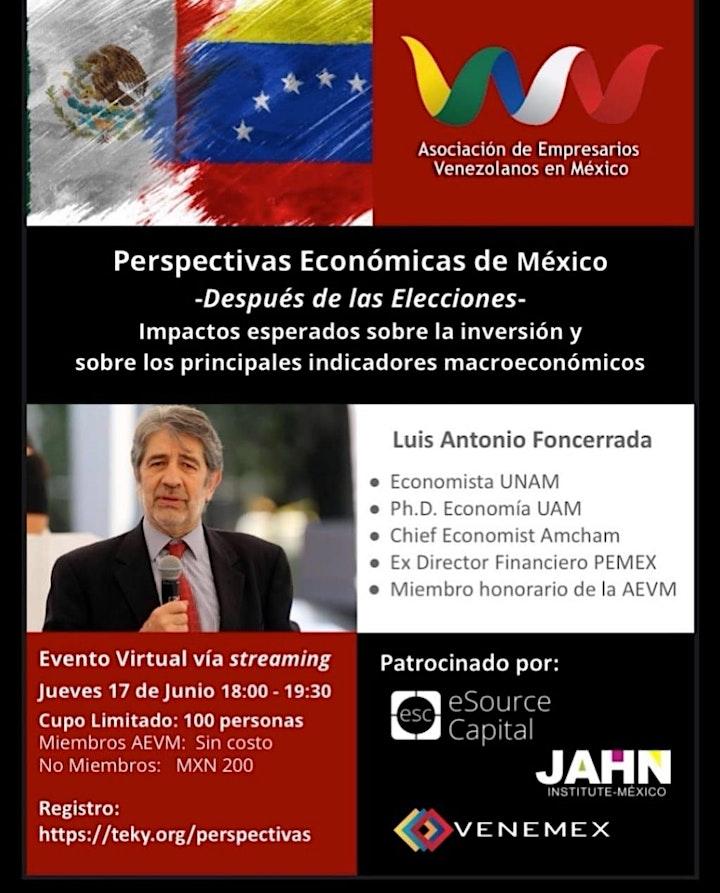 Perspectivas económicas de México -después de las elecciones image