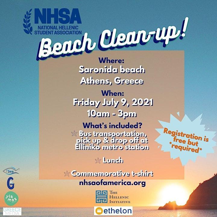 NHSA Beach Clean-Up 2021 image