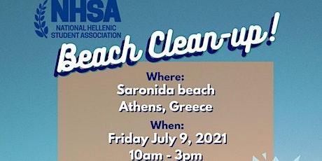 NHSA Beach Clean-Up 2021 tickets