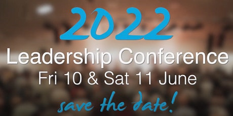 Leaders Conference 2022 tickets