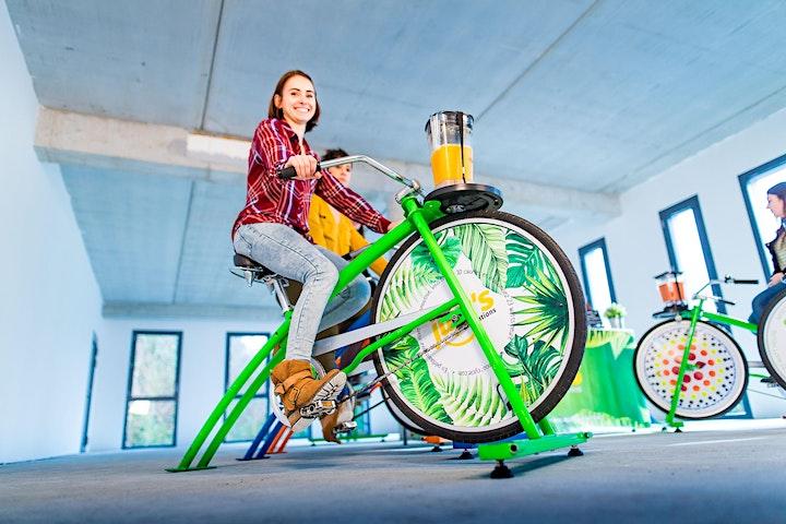 Image pour Les ON : A vélo pour mon smoothie ensoleillé !