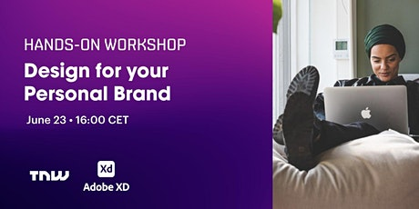Design for your Personal Brand: a hands-on event with Adobe tickets