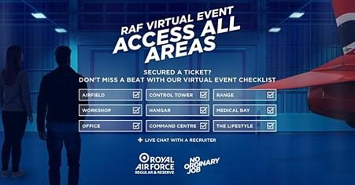 RAF Virtual Event Access All Areas image