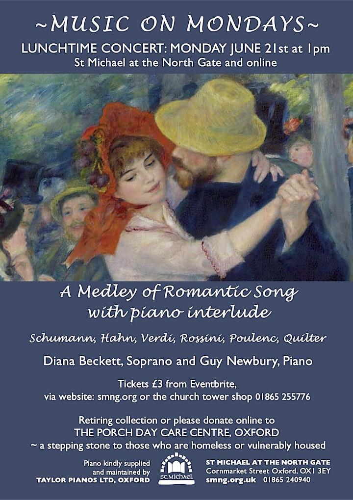 MoM charity concerts: Diana Beckett, Soprano & Guy Newbury, Piano image