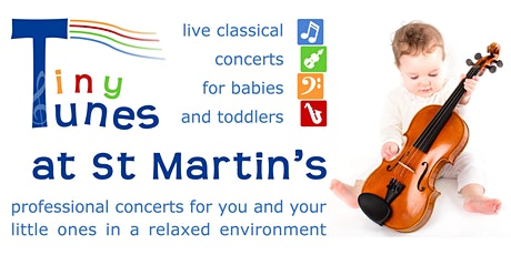 Tiny Tunes – live classical music for babies and toddlers tickets