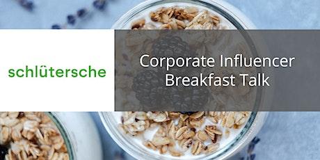Corporate Influencer Breakfast biglietti