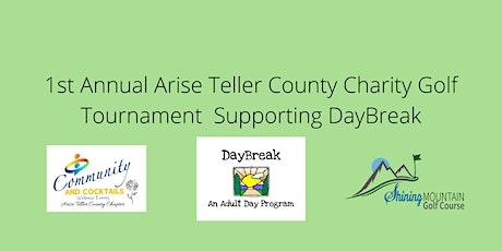 First Annual Arise Teller County Golf Tournament tickets