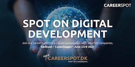 Career Spot IT/Digital Development tickets