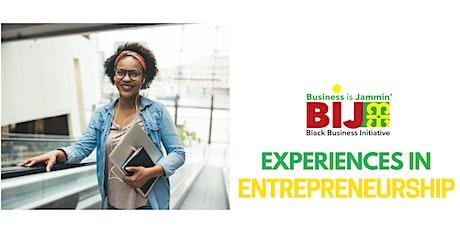 Experiences in: Entrepreneurship Tickets